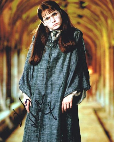 Shirley Henderson Autograph Signed Photo Moaning Myrtle